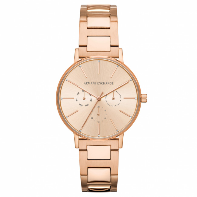 Hodinky ARMANI EXCHANGE - Lola AX5552  Rose Gold/Rose Gold