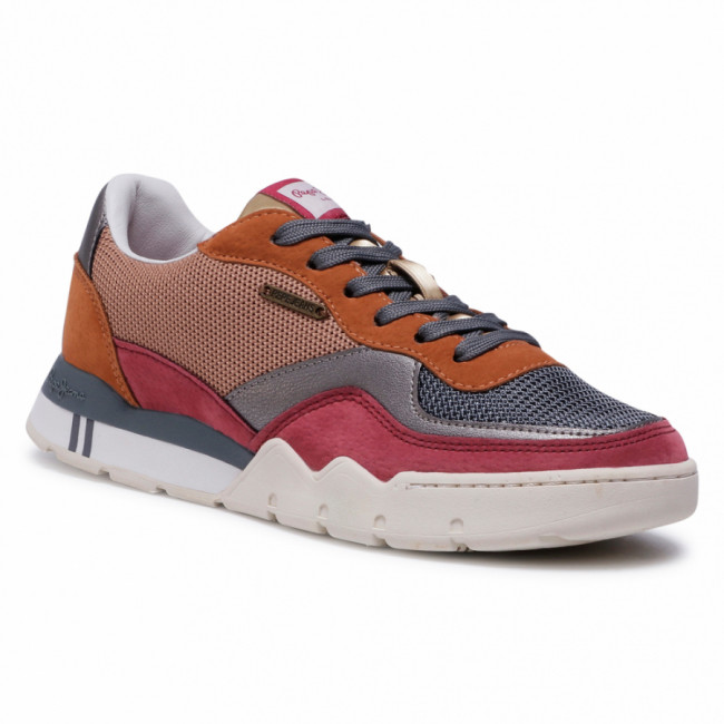 Sneakersy PEPE JEANS - Siena Tech PLS31029 Grey Marl 933