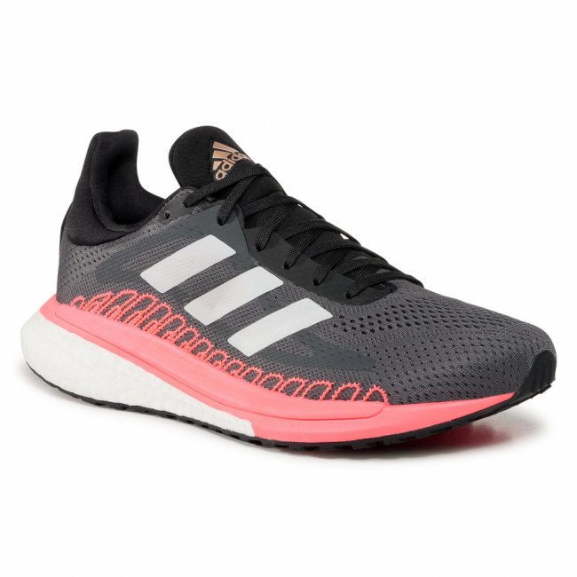 Topánky adidas - Solar Glide 3 W FV7252 Grey Five/Crystal White/Signal Pink