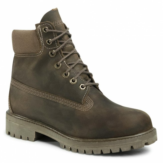Outdoorová obuv TIMBERLAND - Premium TB0A2DT8901 Olive Full Grain