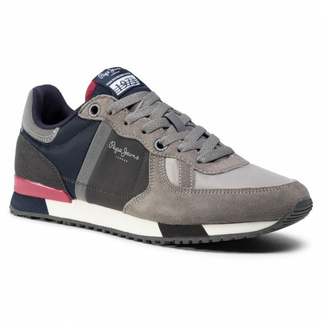 Sneakersy PEPE JEANS - Tinker Zero Second PMS30659  Grey 945