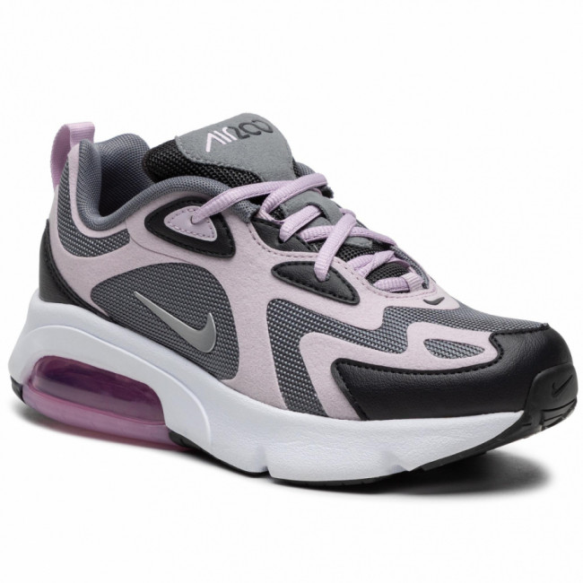 Topánky NIKE - Air Max 200 (GS) AT5627 008 Off Noir/Iced Lilac/Smoke Grey