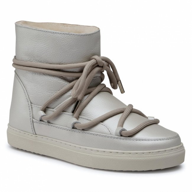 Topánky INUIKII - Snker Full Leather 70202-089 White