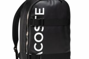 Ruksak LACOSTE - Square Backpack NH3117IA Black