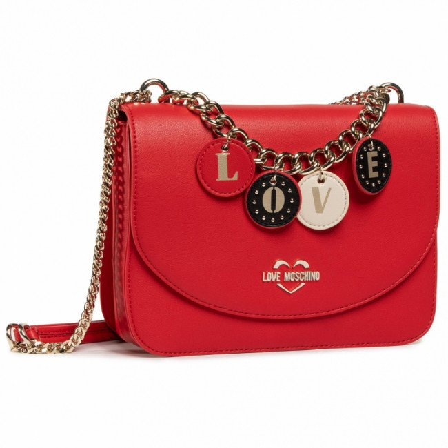 Kabelka LOVE MOSCHINO - JC4226PP0BKD0500  Rosso