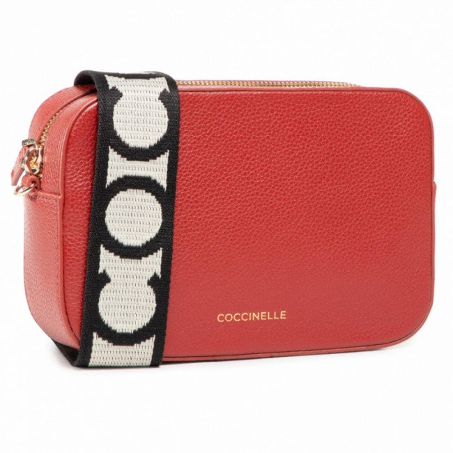 Kabelka COCCINELLE - GV3 Mini Bag E5 GV3 55 I1 07 Foliage Red R46