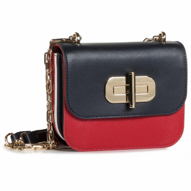 Kabelka TOMMY HILFIGER - Turnlock Mini Crossover AW0AW08737 CJM