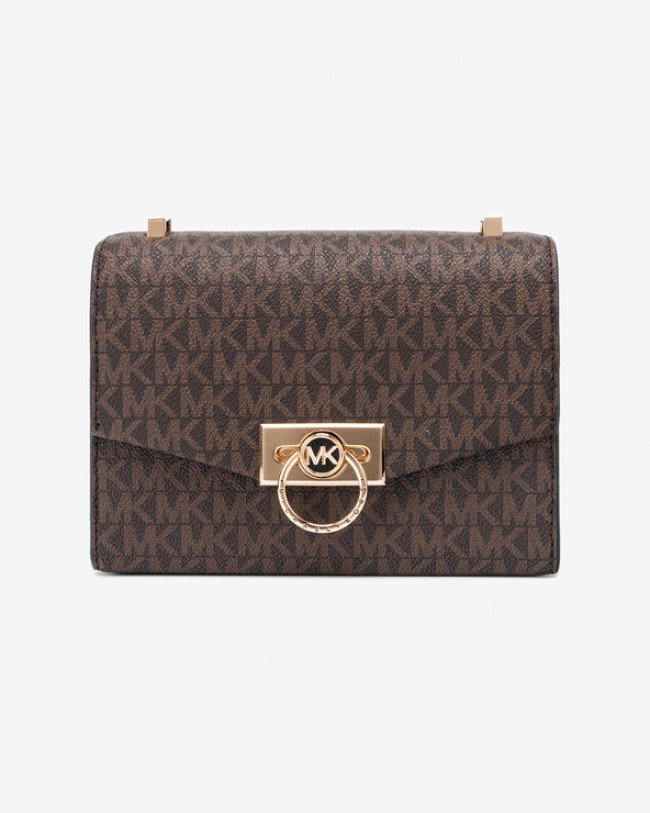 Michael Kors Hendrix Extra Small Cross body bag Hnedá