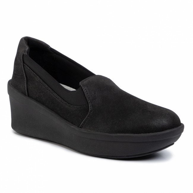 Poltopánky CLARKS - Step Rose Moon 261459874 Black