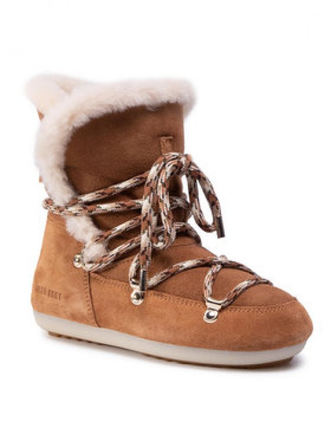 Moon Boot Snehule Dk Side High Shearling 24300100001 Hnedá