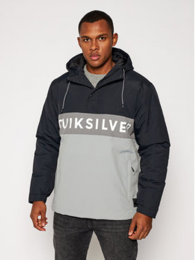 Quiksilver Bunda anorak New Tazawa EQYJK03586 Sivá Regular Fit
