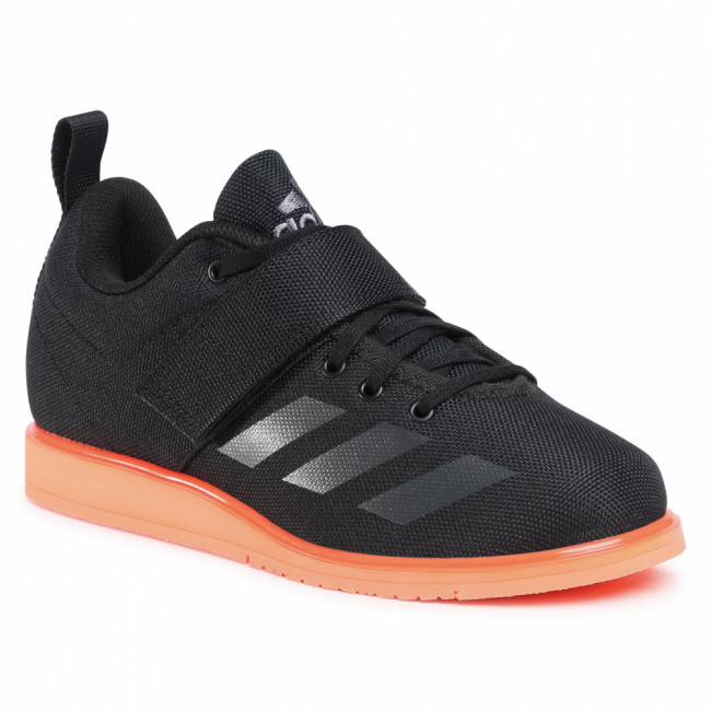 Topánky adidas - Powerlift 4 EF2981 Core Black/Night Metallic/Signal Coral