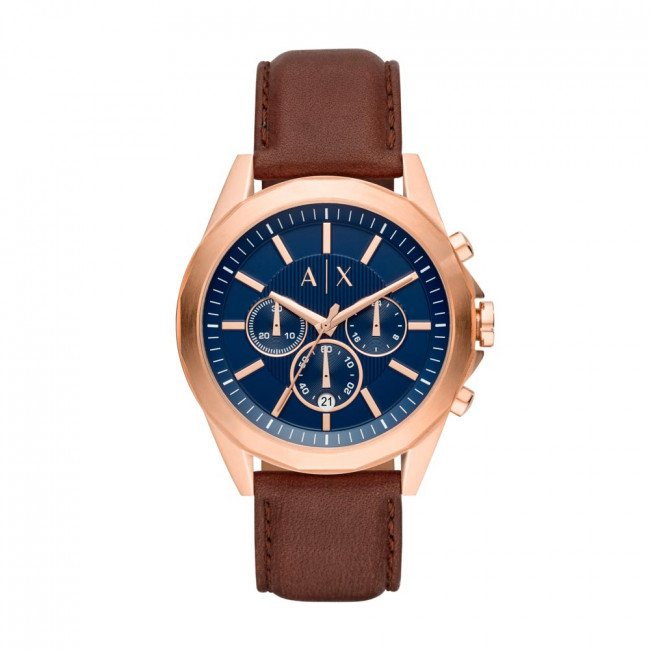 Hodinky ARMANI EXCHANGE - Drexler Chronograph AX2626  Brown/Rose Gold