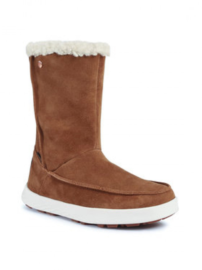 Jack Wolfskin Snehule Auckland Wt Texapore Boot H W 4041321 Hnedá