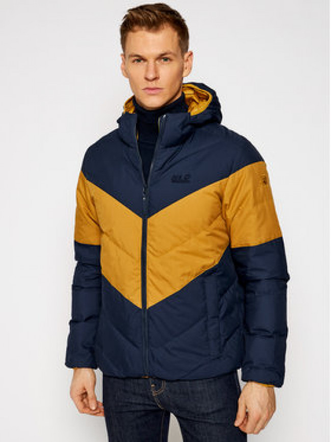 Jack Wolfskin Vatovaná bunda Barrow Bay 1205911 Hnedá Regular Fit
