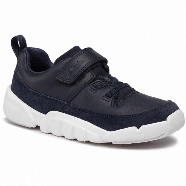 Sneakersy CLARKS - Tri Craft 261535866  Navy Leather
