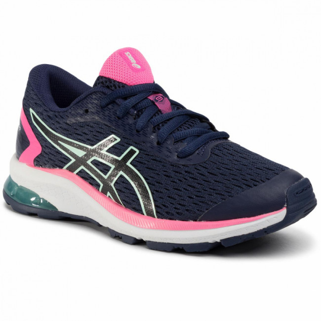 Topánky ASICS - Gt-1000 9 Gs 1014A150 Peacoat/Black 400