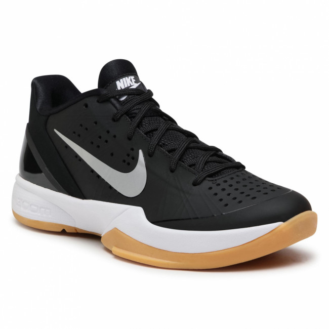 Topánky NIKE - Air Zoom Hyperattack 881485 001 Black/Silver/Gum Yellow