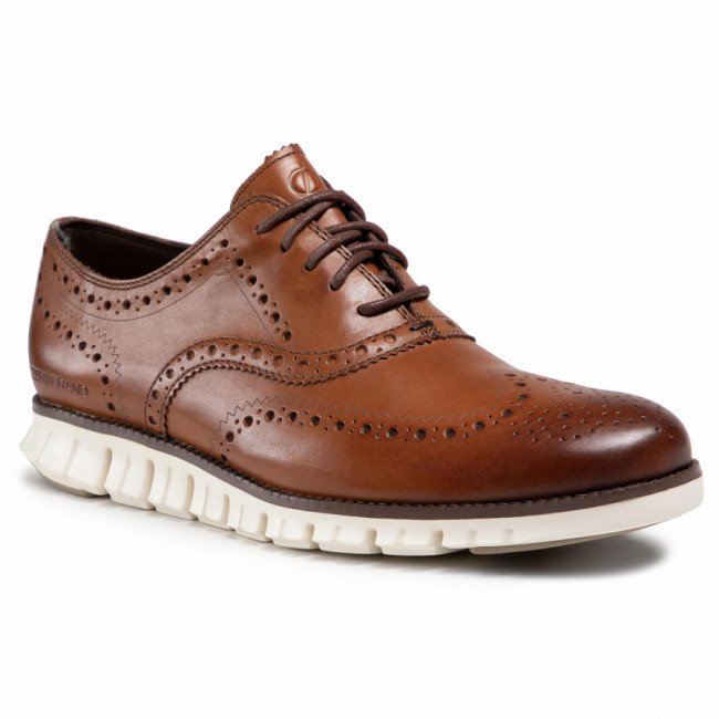 Poltopánky COLE HAAN - Zerogrand Wing Ox C14493 British Tan