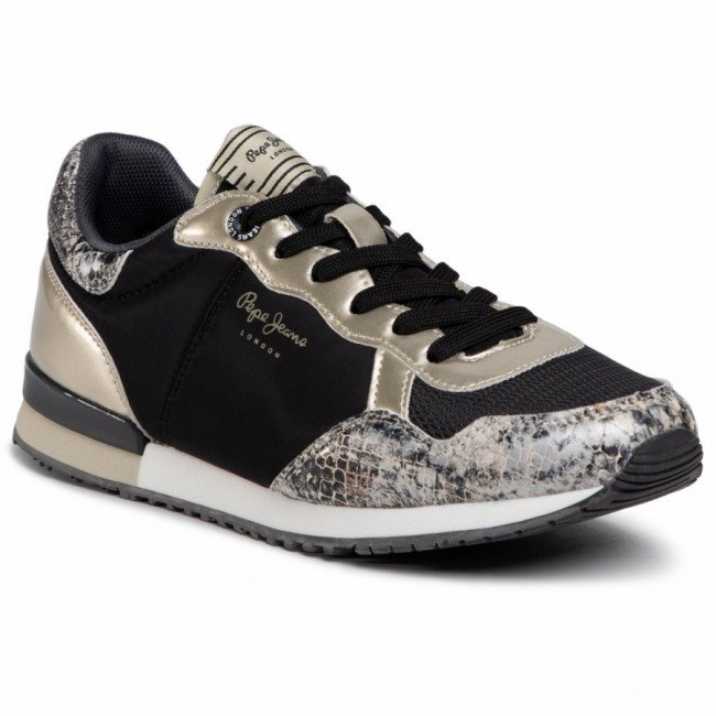 Sneakersy PEPE JEANS - Archie Fun PLS31100 Gold 099