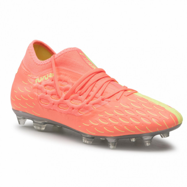 Topánky PUMA - Future 5.3 Netfit Osg Fg/Ag 105936 01 Ngry Peach/Fizzy Yellow