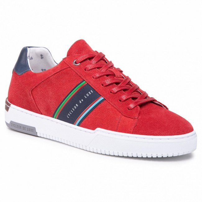 Sneakersy CYCLEUR DE LUXE - Bruce CDLM211107 Red