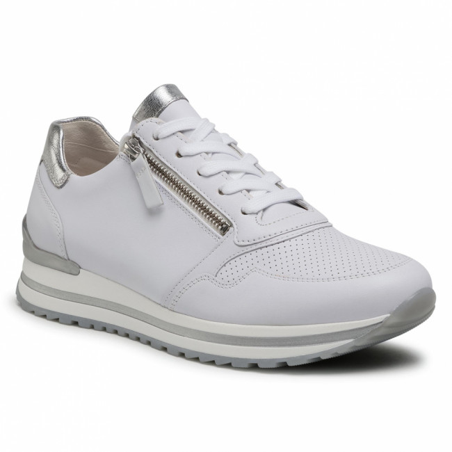 Sneakersy GABOR - 66.528.50 Weiss/Silber