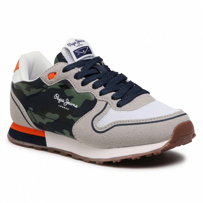 Sneakersy PEPE JEANS - Klein Cambo Boy PBS30492 Light Grey 905