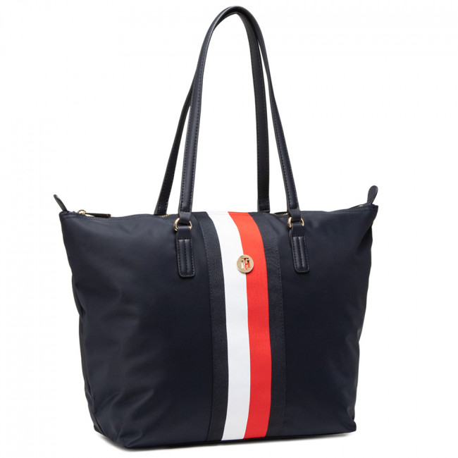 Kabelka TOMMY HILFIGER - Poppy Tote Corp AW0AW09933 DW5