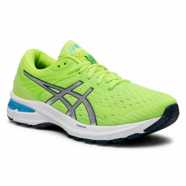 Topánky ASICS - GT-2000 9 1011A983 Hazard Green/Pure Silver 300