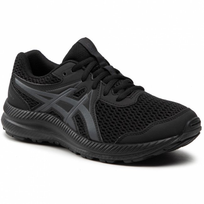 Topánky ASICS - Contend 7 Gs 1014A192 Black/Carrier Grey 001
