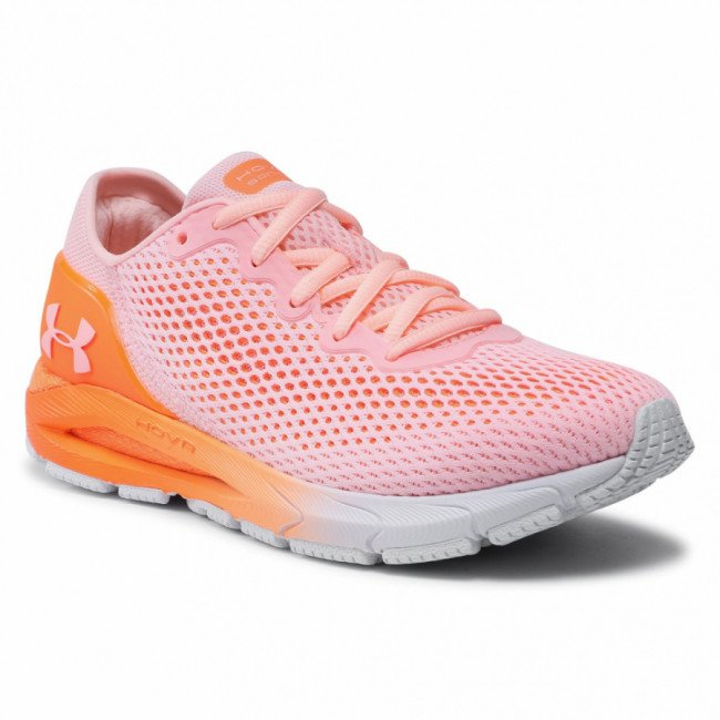 Topánky UNDER ARMOUR - Ua W Hovr Sonic 4 3023559-600 Pnk