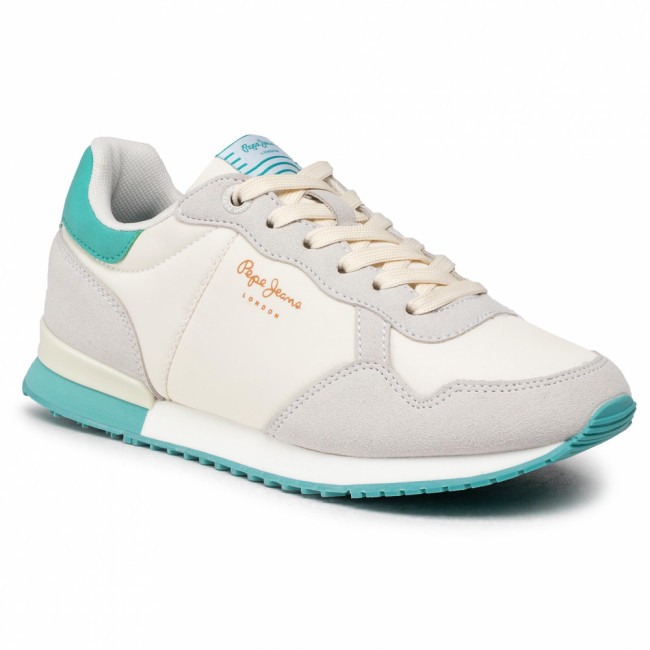 Sneakersy PEPE JEANS - Archie Block PLS31106 White 800