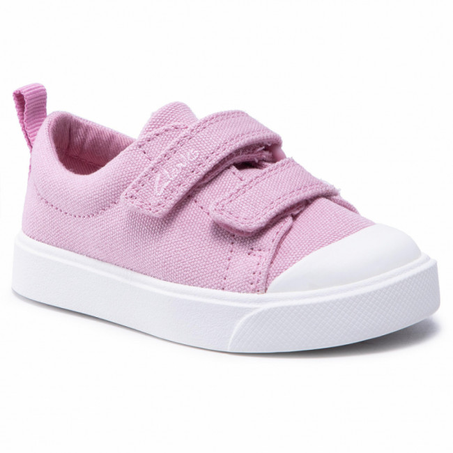 Tramky CLARKS - City Bright T 261490957 Pink Canvas