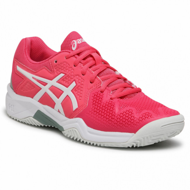 Topánky ASICS - Gel-Resolution 8 Clay Gs 1044A019  Pink Cameo/White 702