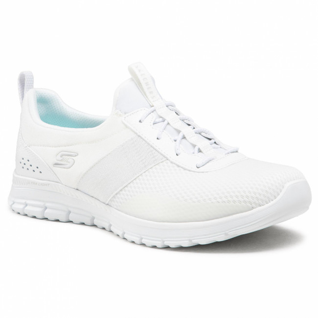 Sneakersy SKECHERS - Forever After 104072/WHT White