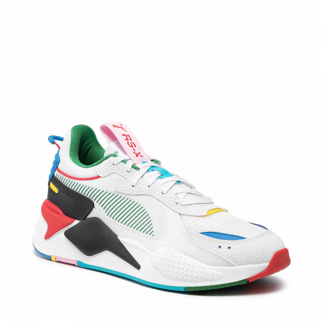 Sneakersy PUMA - Rs-X Intl Game 381821 01 Wt-Hg/Rsk/Rd/Frc/Bl-Ep Yl