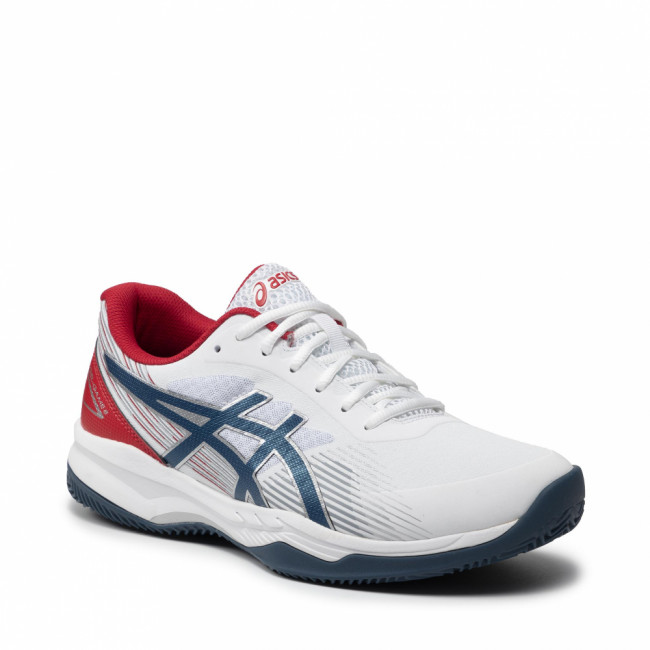 Topánky ASICS - Gel-Game 8 Clay/Oc 1041A193 White/Mako Blue