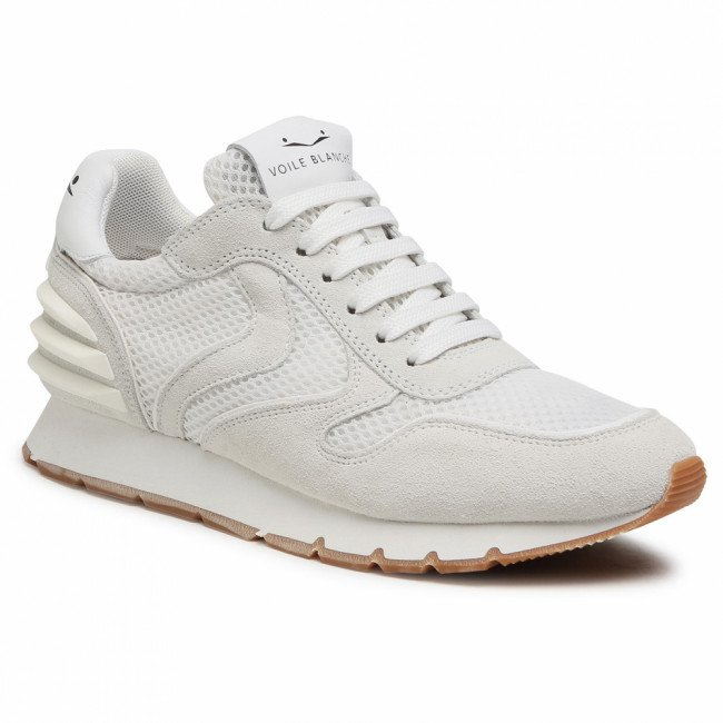 Sneakersy VOILE BLANCHE - Julia Power 0012014731.11.0N01 Bianco
