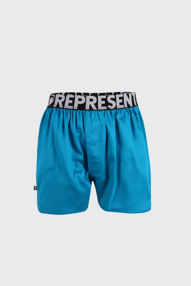 Trenírky Represent Exclusive Mike Turquoise