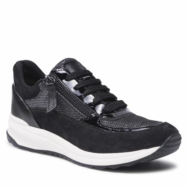 Sneakersy GEOX - D Airell A D152SA 022AS C9999 Black