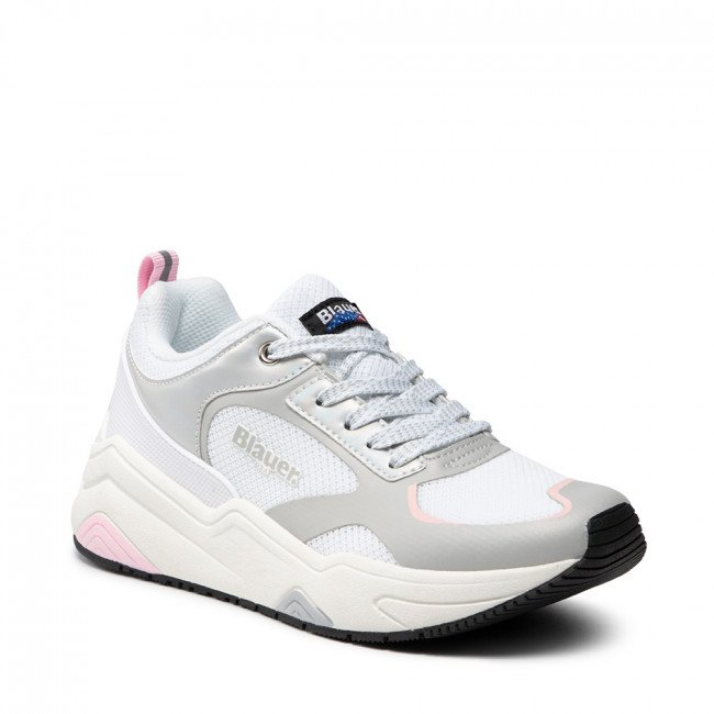 Sneakersy BLAUER - S1TAYLOR01/MES White