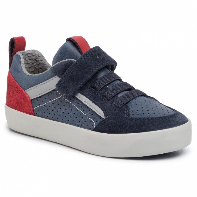 Sneakersy GEOX - J Kilwi B. E J02A7E 0CL22 C4244 M Navy/Dk Red
