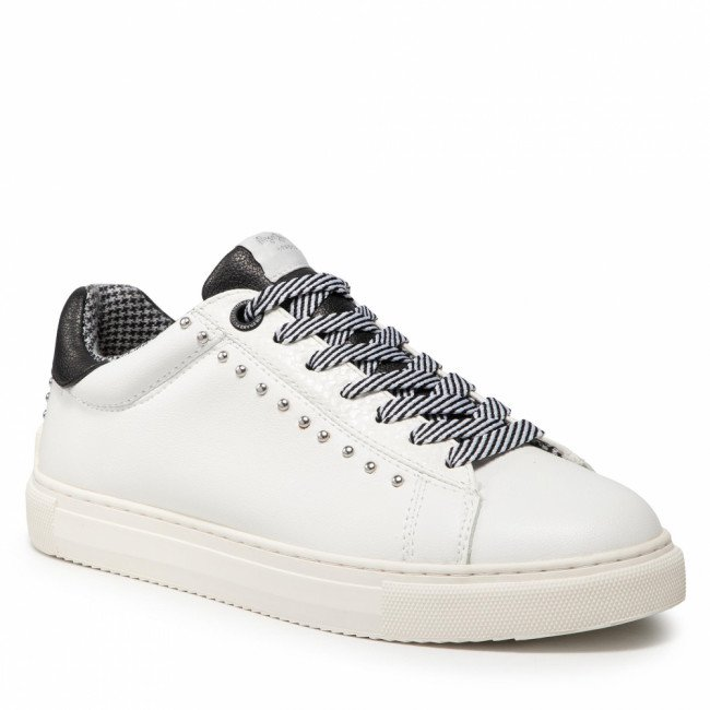 Sneakersy PEPE JEANS - Adams Catty PLS31198 White 800