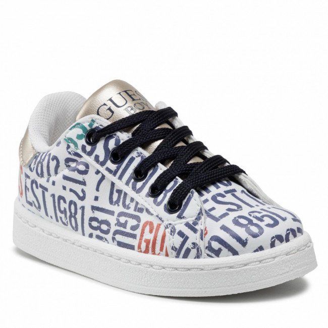 Sneakersy GUESS - FILUC8 ELE12  GUESS LOGO