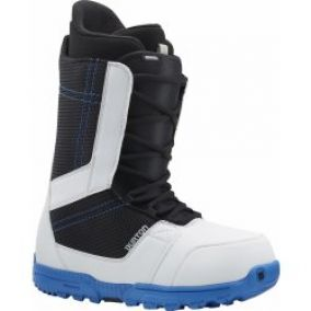 Burton Invader white/black/blue