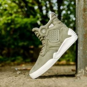 Supra Skytop Ivke Laurel Oak White