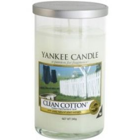 Yankee Candle Clean Cotton Décor stredný vonná