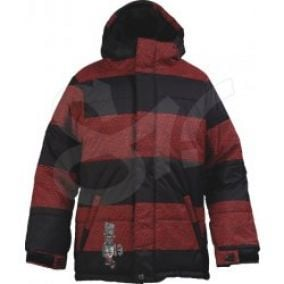 Burton Boys Puffy Jacket rising sun cracle stripe
