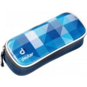 Deuter Pencil Case blue arrowcheck